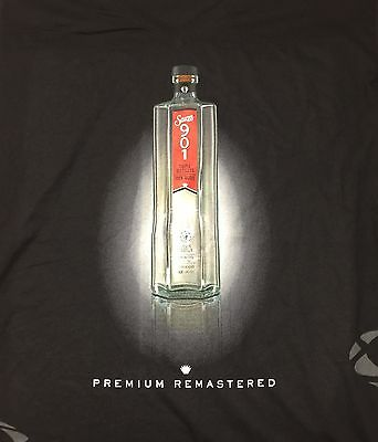 Sauza Silver Tequila Men's V-Neck Black T-Shirt Justin Timberlake Quote New