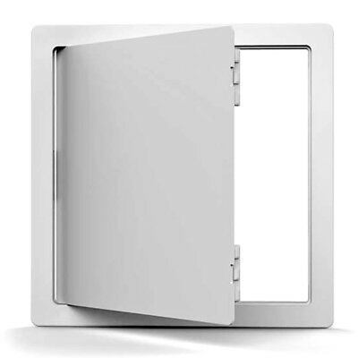 Acudor  8 in. H x 8 in. W Plastic  White  Access Door