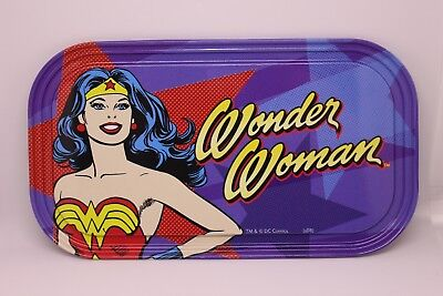 Wonder Woman* Tin Tray Plaque Magnet * Sign