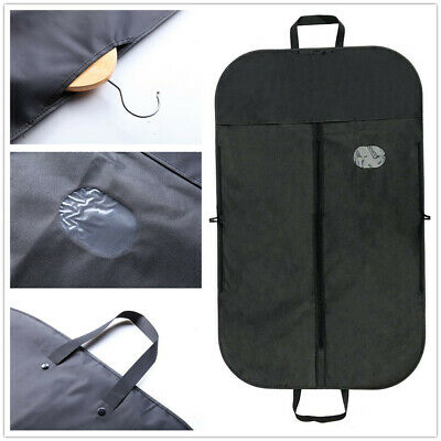 1X Clothing Dust Cover Bags Oxford Cloth For Suit Dress Jacket 62 x 100 CM