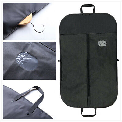 Suit Dress Coat Garment Bag Dust Cover Protector Travel Carrier Bag Cover in AU
