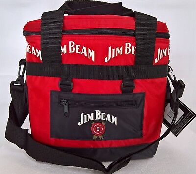 ~ Jim Beam - INSULATED LARGE DRINK COOLER CONTAINER BAG BOX CHILL DRINK CAMPING
