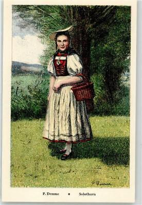 52202537 - Solothurn Soleure Tracht