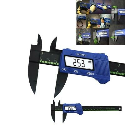 0-150mm 6inch LCD Digital Caliper Plastic Vernier Electronic Ruler Micrometer