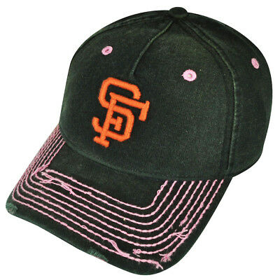 3a7a5e3e6f49a7 MLB American Needle San Francisco Giants Ladies Womens Distressed Ripped Hat  Cap