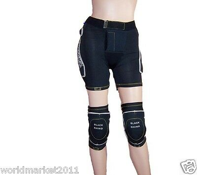Outdoor Skiing Prevent Fall Protection Buttock And Knee Thickness 2.2cm Ski Pads