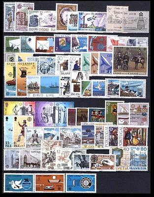 Cept Europa annata 1979 COMPLETE ** MNH registered mail discount