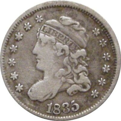 1835 Bust Half Dime--Attractive Very Fine
