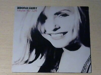 """7"""" DEBORAH HARRY(BLONDIE) * Maybe For Sure/Get Your Way (MINT-) MADE IN ENGLAND"""