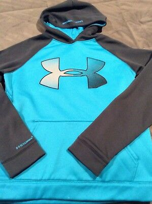 Under Armour Hooded Hoodie Sweatshirt XL Loose Logo