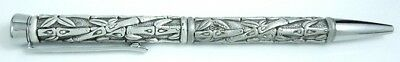 Pewter Bamboo design very nice crafted Pewter Ink writing Pen