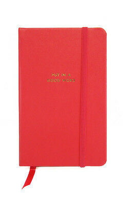 """KATE SPADE """"PUT IN A GOOD WORK"""" SM Bookmark Msrp $ 16.00 *NEW WITH TAG*"""