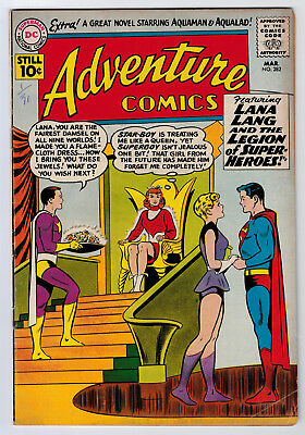 Adventure Comics #282 3.0 5Th Legion 1St Star Boy 1961 Cr/ow Pages Key Book 🔑