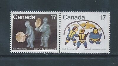 Canada #837ii 838a Se-tenant Blue Scratch on Feather Variety MNH *Free Shipping*