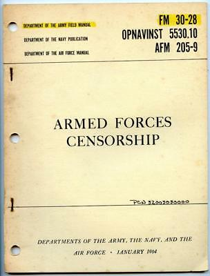 vietnam war 1964 us army field manual book fm 30 28 armed forces rh picclick com army field manual 6-22 army field manual 6-0