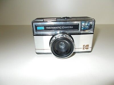 Kodak 277X Instamatic Compact Camera,with Plastic Wallet,Carrying Strap,#K-46-11