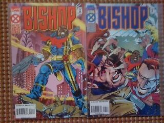 Marvel Comics Bishop Comic All New Men Limited Series Issue # 3 & 4
