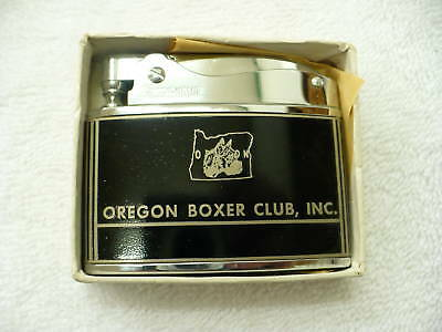 77A- Vintage  Oregon Boxer Club Inc Dog Lighter Mib