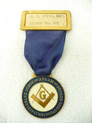 91A- Grand Lodge Of Af & Am Of Oregon #101 Centennial 1951 #5763