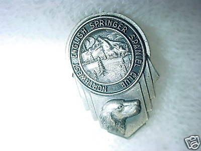 B5- Sterling Northwest English Springer Spaniel Pin