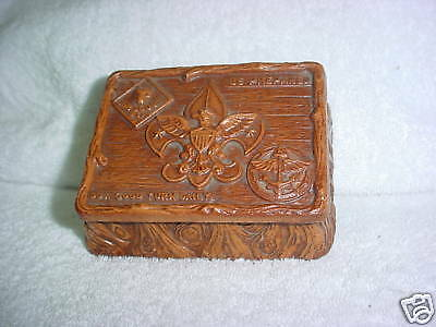 46A- Vintage Bsa Boy Scouts  Box With Lid