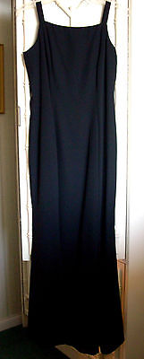 Nwot Late Edition Ltd Formal Maxi Dress Mermaid/trumpet Style~Black~Size 10
