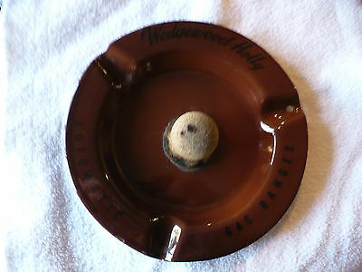 Fr-  Vintage Wedgewood-Holly Automatic Gas Ranges Pipe & Ashtray