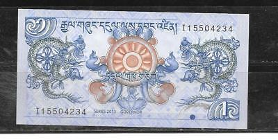 Bhutan 2013 Unused Mint New Ngultrum Currency Banknote Bill Note Paper Money