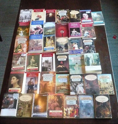 Classic Literature 39 Book Lot Oxford Wordsworth Penguin Trollope Woolf Doyle
