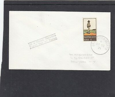 Ireland 1971 Art Jack B Yeates First Day Cover FDC