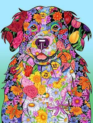 Large Indoor/Outdoor Flowers Flag (TP) - Bernese Mountain Dog 96051