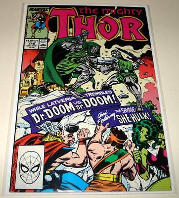 The Mighty THOR # 410  Marvel Comic  (November 1989)   FN