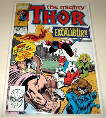 The Mighty THOR # 427  Marvel Comic  (December 1990)   VG/FN   Excalibur