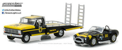 Greenlight 1:64 Heavy Duty Trucks 1967 Ford F-350 Shelby Cobra Terlingua Racing
