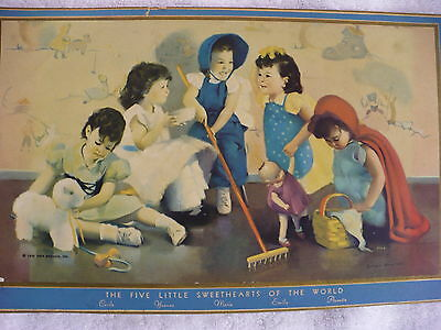 Je- Davidson's The Five Little Sweethearts Of The World (1936 Nea Service ,inc)