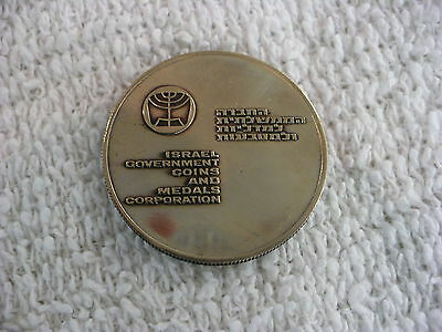 Js- Israel Government Coins & Medals Corporation Peace And Prosperity For 1966