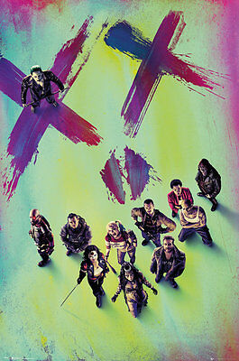 SUICIDE SQUAD Movie Poster - STAND - New Suicide Squad movie poster FP4186