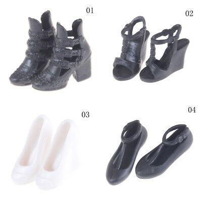 1Pair Fashion Beautiful Heels Sandals Shoes For 1/6 Barbie Doll Shoes Kids Gift