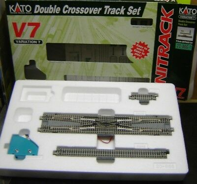 "Kato N 20-866-1 Double Crossover Track Set  ""Neu""(AND)"