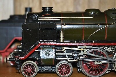 1 gauge marklin HR66/12921 green/black 1932 original paint excellent condition