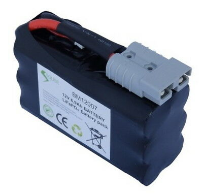 Batterie SOLISE Lithium CCA360 12V faible largeur - BM12007S