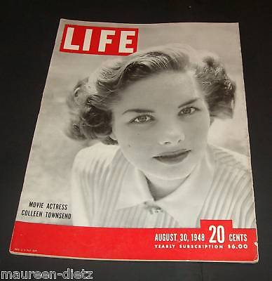 August 30, 1948 LIFE Magazine 40s Advertising ads add ad FREE SHIPPING Aug 8 29