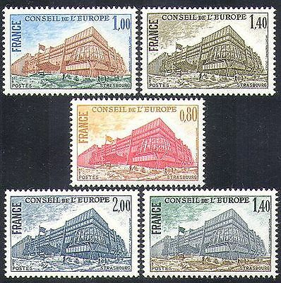 France 1977 council of europe strsbourg buildings for Architects council of europe