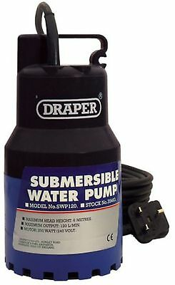 Draper 35463 Submersible Water Pump 6M Lift 230V