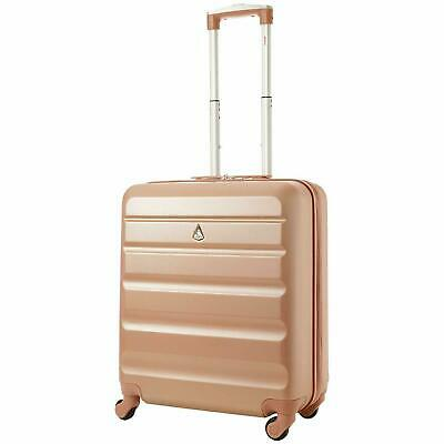 NEW Lightweight Hard Shell 4 Wheel Spinner Cabin Trolley Luggage Suitcase UK