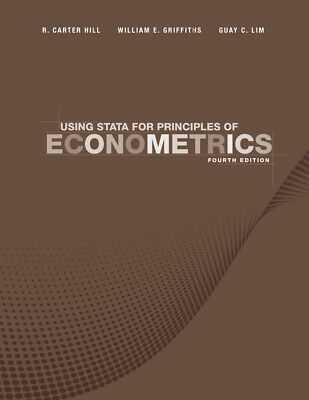 Using Stata for Principles of Econometrics, Adkins, Lee C.