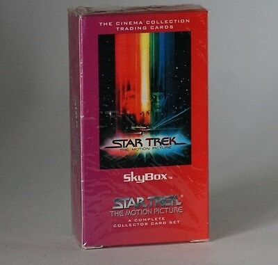 Skybox STAR TREK THE mouvement IMAGE COMPLET JEU DE CARTES à collectionner Still