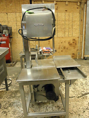 "Hobart 6801 142""  Meat Butcher Pork Chicken Commercial Band Saw Single Phase"