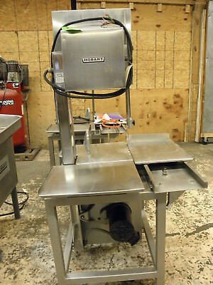 "Hobart 6801 142"" Vertical Meat Butcher Pork Chicken Commercial Band Saw"