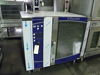 New Electrolux Aos102Gcp1 Nat Gas Air O Convect Combi Convection Oven